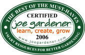 Joe Gardener 2006 Award for CobraHead - Best of the Must Have's
