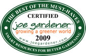 Joe Gardener 2009 Award for CobraHead - Best of the Must Have's